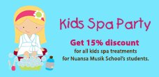 Kids Spa Party at Hotel Gran Mahakam