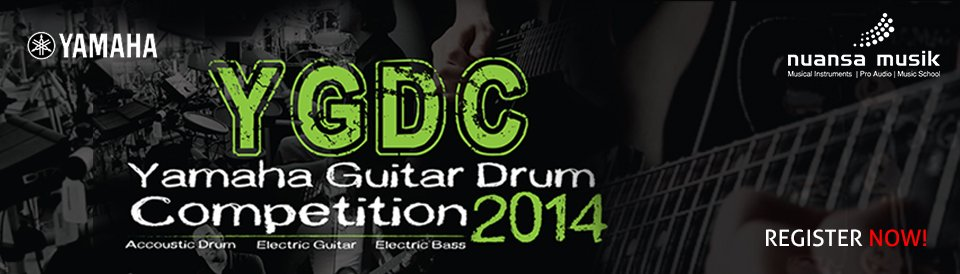 Yamaha Guitar Drum Competition 2014