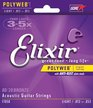 Elixir 11050 / 012 - 053 Polyweb Light Acoustic Guitar Strings