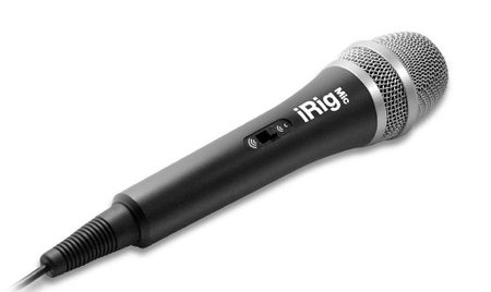 Image for iRig Mic Handheld Microphone for iPhone, iPad and Android Devices