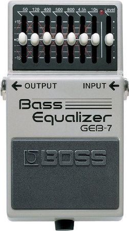 Image for BOSS GEB 7 Equalizer Bass
