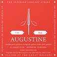 Albert Augustine Classic Red String Set Medium Tension