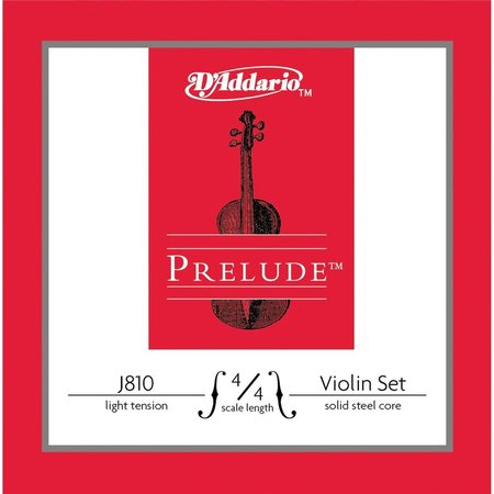 Image for D'addario Vio Prelude J810 - 1/2M Violin Strings