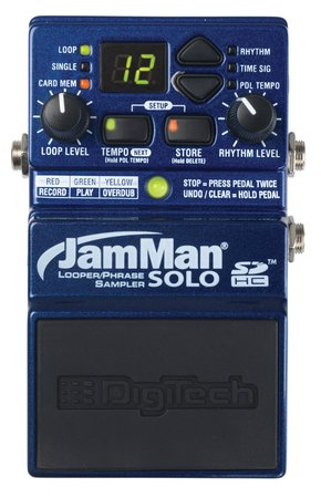 Image for Digitech JamMan Solo Looper JMS Pedal Effect