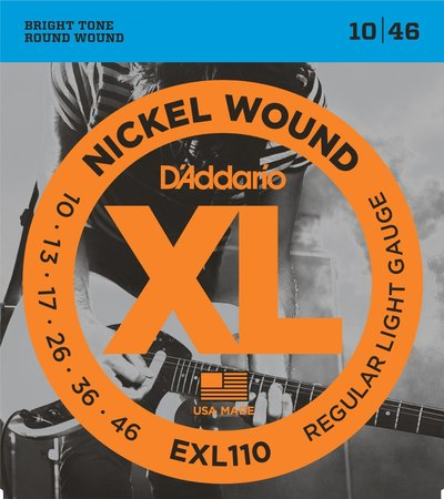 Image for D'Addario EXL110 Electric Strings