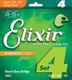 Elixir NANOWEB Electric Bass 4-Strings