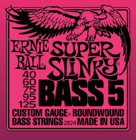 Image for Ernie Ball Slinky 2824 Electric Bass Guitar Strings