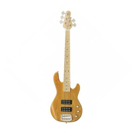 Image for G&L Tribute L2500T Natural Gloss MP 5 String Electric Bass