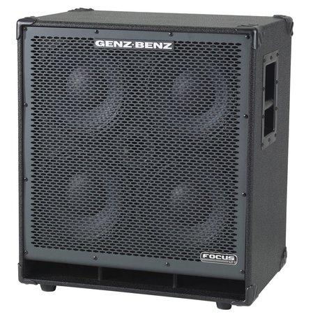 Genz Benz Fcs 410t Bass Cabinet 4x10 Nuansa Musik