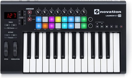 Image for Novation Launchkey 25 Keyboard Controller
