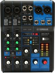 Image for Yamaha MG06 X Analog Mixing Console