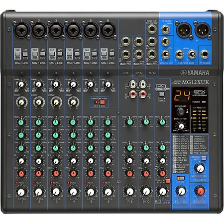 Image for Yamaha MG12XUK 12-Channel USB Analog Mixer