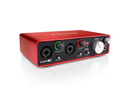 Image for Focusrite Scarlett 2i2 USB Audio Interface