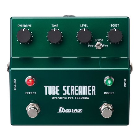 ibanez ts808dx tube screamer booster overdrive guitar effects nuansa musik. Black Bedroom Furniture Sets. Home Design Ideas