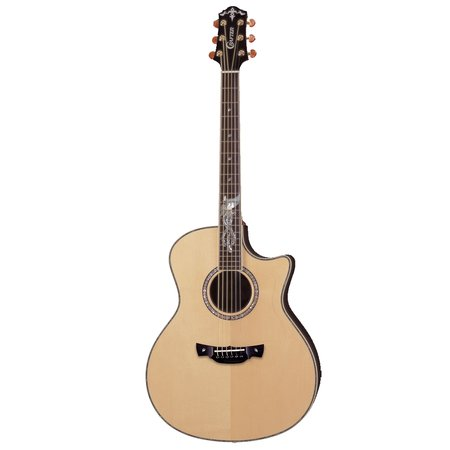 Image for Crafter PK Rose Plus Anniversary Series Acoustic Electric Guitar