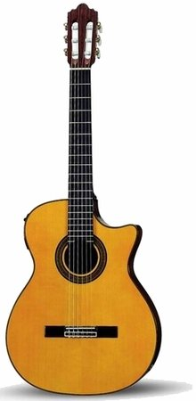 Image for Crafter SNT 380EQ/YL (W/SB-TC) Acoustic Nylon Guitar