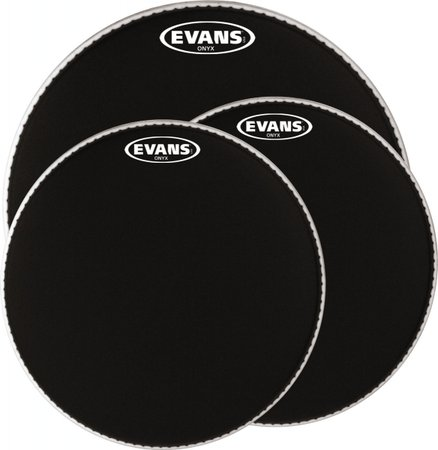 "Image for Evans Onyx 2 PLY Coated 12"" B12ONX2"