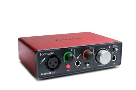 Image for Focusrite Scarlett Solo USB Audio Interface