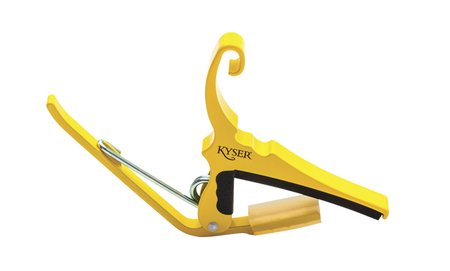 Image for Kyser Yellow Blaze Quick Change Guitar Capo