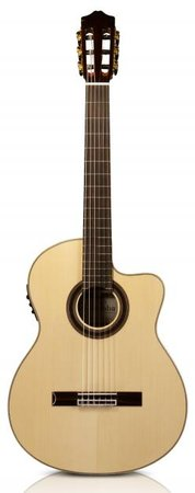 Image for Cordoba GK Studio Negra Acoustic Electric Nylon Guitar