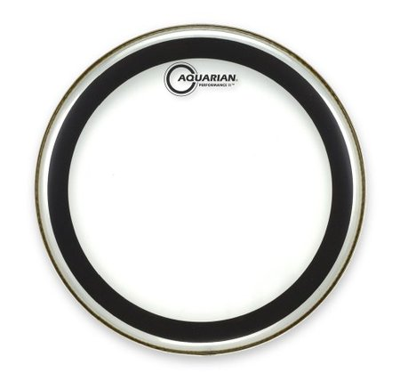"Image for Aquarian Performance II Series Two Ply Clear PF22 22"" Bass Drumheads"