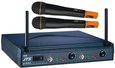 JTS US 8002 D/MH 750 Double Hand Held Wireless Vocal Microphone