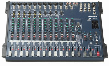 Image for Yamaha MG 166 CX Analog Mixer