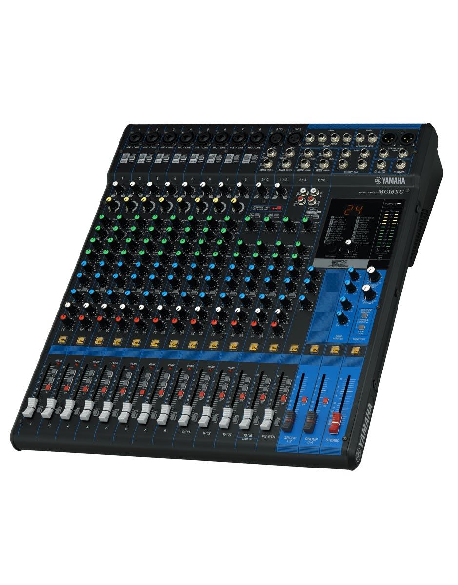 yamaha mg16xu analog mixing console nuansa musik. Black Bedroom Furniture Sets. Home Design Ideas